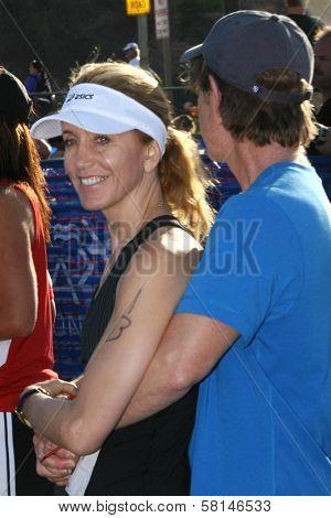 William H. Macy and Felicity Huffman at The 21st Nautica Malibu Triathlon Presented By Toyota. Zuma Beach, Malibu, CA. 09-16-07