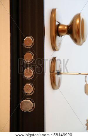 Security Door Latches