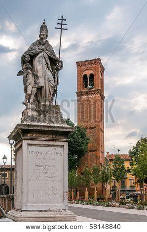 Statue Of Saint Sylvester