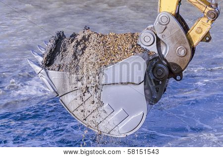 Dredging With An Excavator