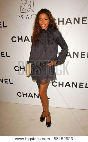 Golden Brooks at the Chanel and P.S. Arts Party. Chanel Beverly Hills Boutique, Beverly Hills, CA. 09-20-07