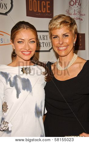 Rebecca Gayheart and Mary Norton at Moonlight & Magnolias to benefit Lupus LA, Mary Norton, Los Angeles, CA 09-25-07