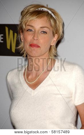Sharon Stone at the
