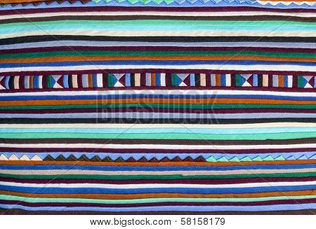 Colorful  Fabric Alternation Pattern