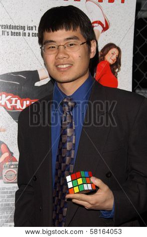Tyson Mao at the Los Angeles Party for
