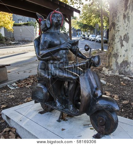 "Art Work Title:""'it Takes Two"" By Gillie And Marc Schattner, Paddington. Australia."