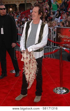 Keith Richards at the World Premiere of