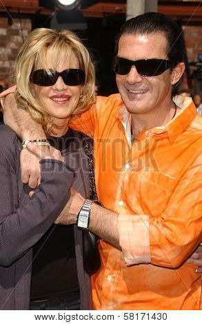 Melanie Griffith and Antonio Banderas  at the Los Angeles Premiere of