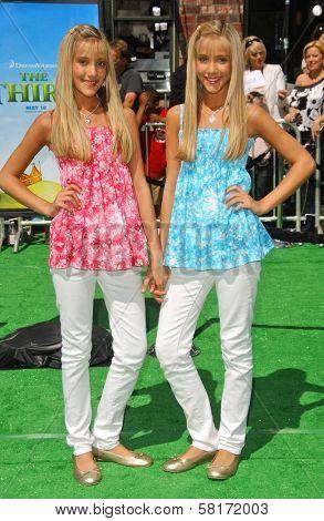 Rebecca Rosso and Camilla Rosso at the Los Angeles Premiere of