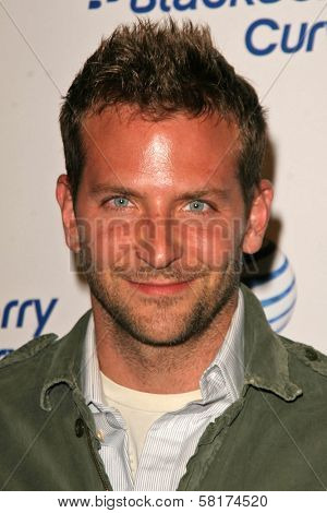 Bradley Cooper  at the Launch Party for the BlackBerry Curve hosted by AT and T. Forbeslife Penthouse Suite, Beverly Hills, CA. 05-31-07