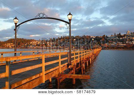 White Rock Pier Sunrise Walk