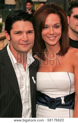 Corey Feldman and Susie Sprague at the 2007 Alma Awards. Pasadena Civic Auditorium, Pasadena, CA. 06-01-07