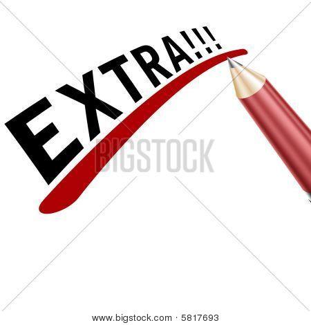 Extra Pencil