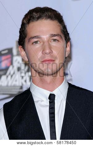 Shia LaBeouf in the press room at the 2007 MTV Movie Awards. Gibson Amphitheatre, Universal City, CA. 06-03-07