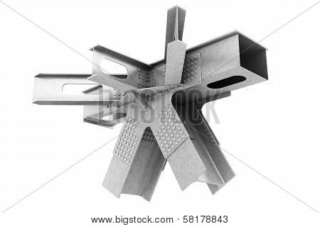 Fragment Of Structural Metalwork