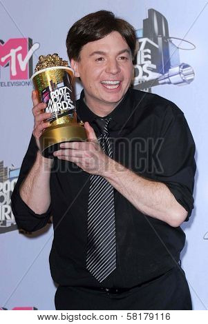 Mike Myers in the press room at the 2007 MTV Movie Awards. Gibson Amphitheatre, Universal City, CA. 06-03-07
