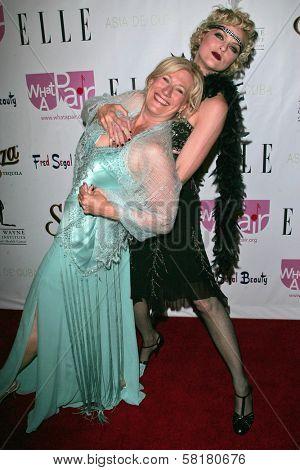 Jayne Atkinson and Elaine Hendrix at