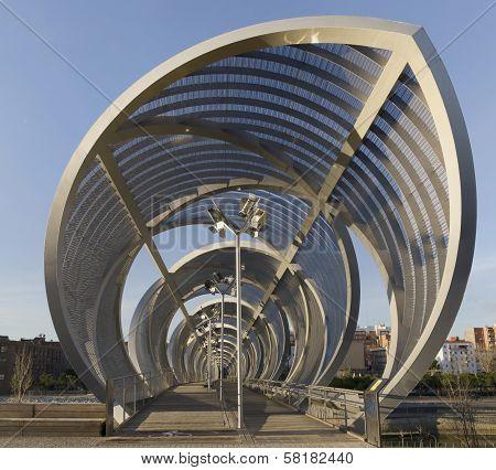 Arganzuela Bridge Madrid Rio