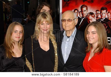 Norman Lear and family at the North American Premiere of
