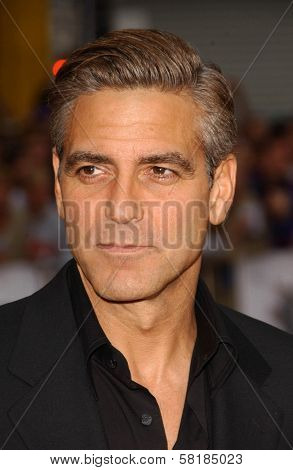 George Clooney at the North American Premiere of