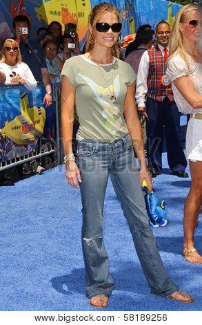 Denise Richards at the Opening of Disneyland's