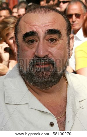 Ken Davitian at the world premiere of