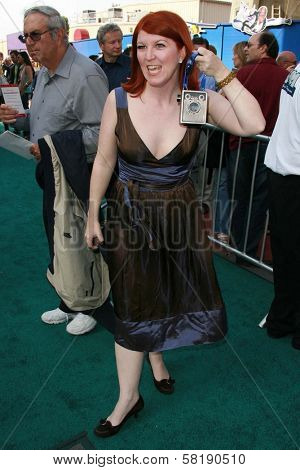 Kate Flannery at the world premiere of