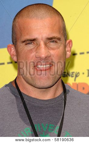 Dominic Purcell at the Opening of Disneyland's