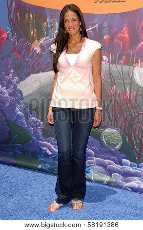 Dayanara Torres at the Opening of Disneyland's