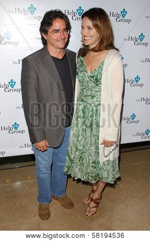 Brad Silberling and Amy Brenneman at The Help Group's 30th Annual Teddy Bear Picnic to benefit children with Autism Spectrum Disorders. Beverly Hilton Hotel, Beverly Hills, CA. 06-12-07