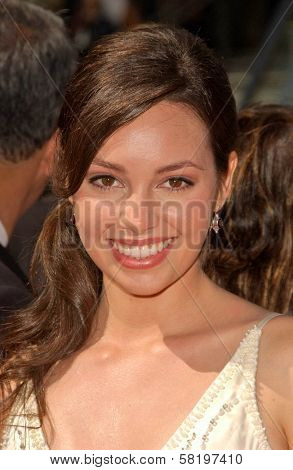 Emily O'Brien at the 34th Annual Daytime Emmy Awards. Kodak Theater, Hollywood, CA. 06-15-07