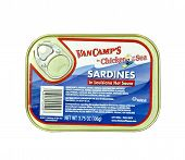 can of VanCamp's Sardines