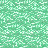 picture of 1950s style  - Small ditsy pattern with short hand drawn strokes in mint green color Seamless texture in hipster style for web - JPG
