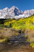 Maroon Bells in Autumn