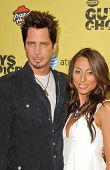 Chris Cornell and wife Vicky at Spike TV's