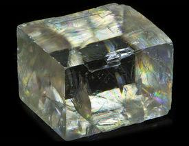 stock photo of calcite  - crystal of calcite - JPG