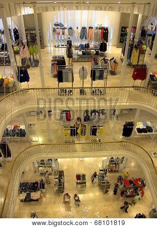 Multi-storey Shopping Center