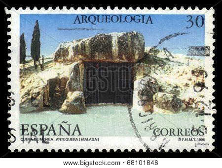 Bronze Age Cave In Antequerra. (malaga)