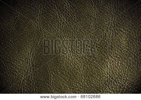 Brown Textured Leather Grunge Background Closeup