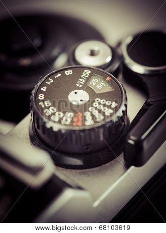 Vintage Camera Knob