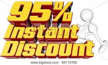 Instant 95 Percent Discount