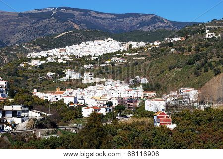 White village, Archez, Spain.
