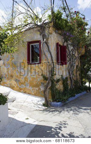 Greek Cottage Corner