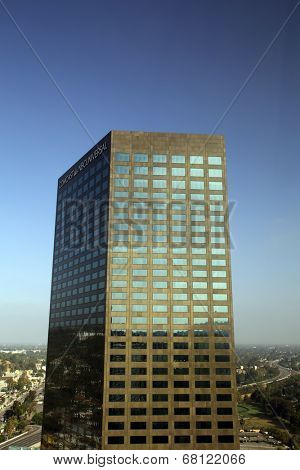 UNIVERSAL CITY, CALIFORNIA - TUES. JUNE 24, 2014: The headquarters of Comcast NBC Universal in Universal City, California, on Sunday, June 22,  2014.