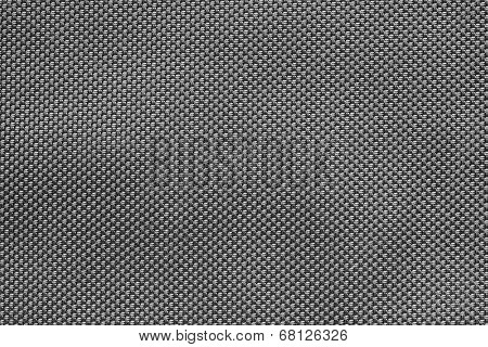 Rough Texture Of Wattled Fabric Gray Color