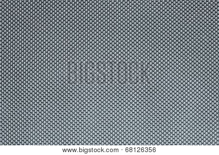 Rough Texture Of Wattled Fabric Silvery Color