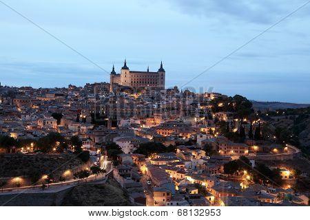 Toledo At Night. Spain