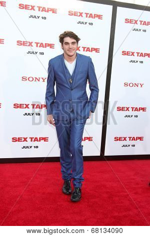 LOS ANGELES - JUL 10:  RJ Mitte at the