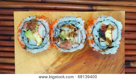 Special Japanese Sushi Roll