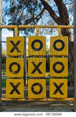 Playground Naughts & Crosses